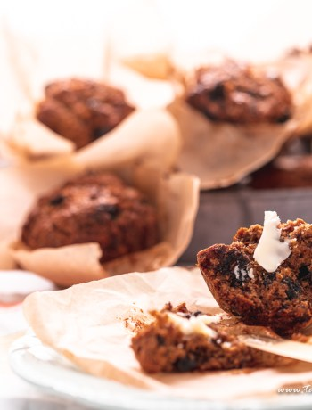 Cook and Eat healthy for 30 days bran muffins