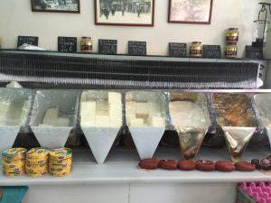 Turkish cheese and sausage