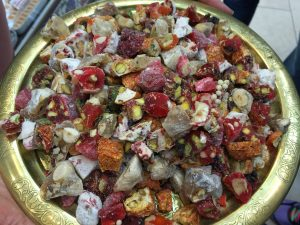 Turkish delight taster plate