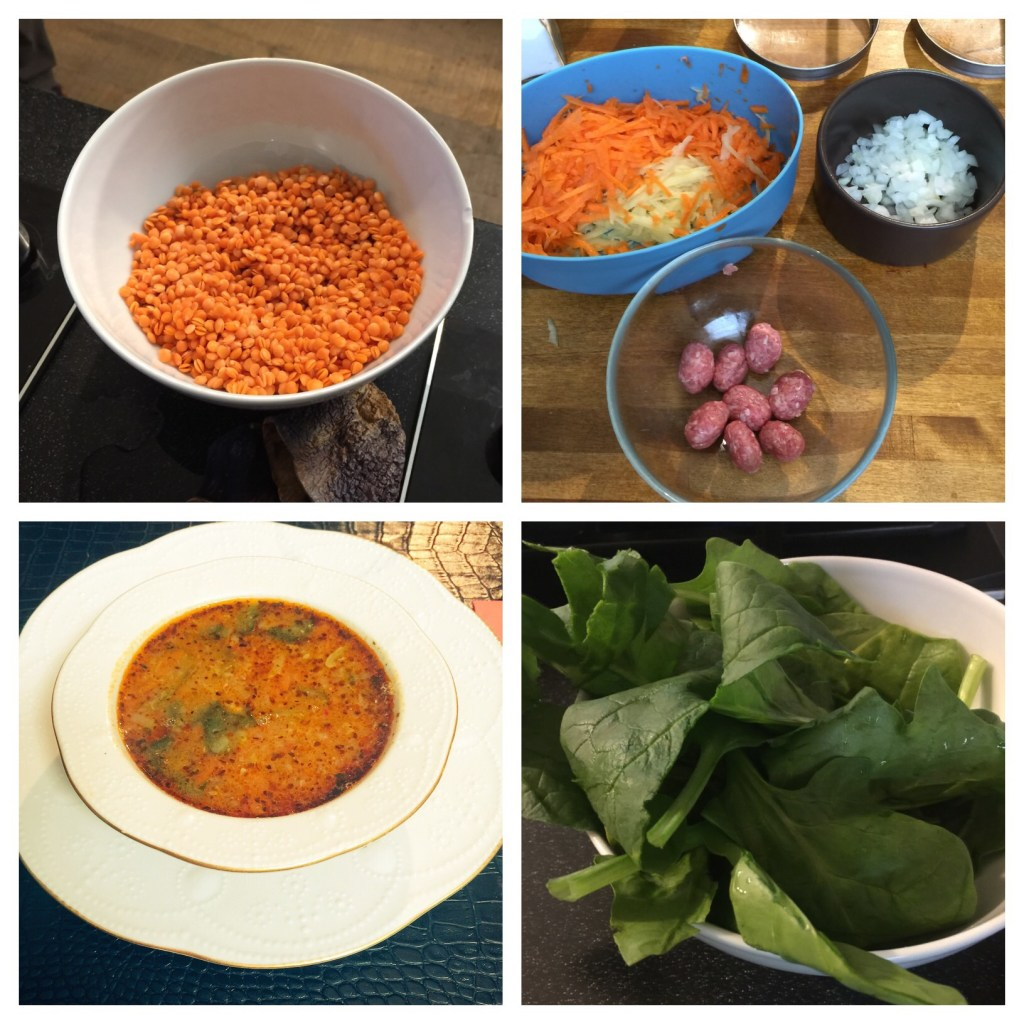Step by step how to make Sulemaniye soup