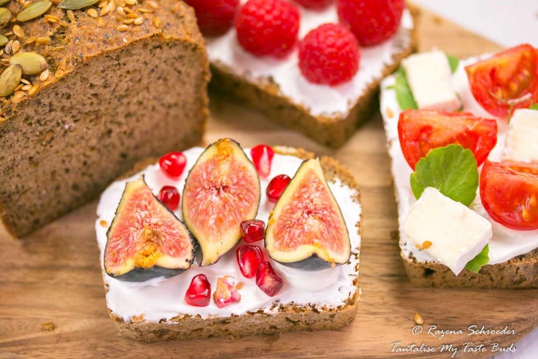 Almond and Coconut bread