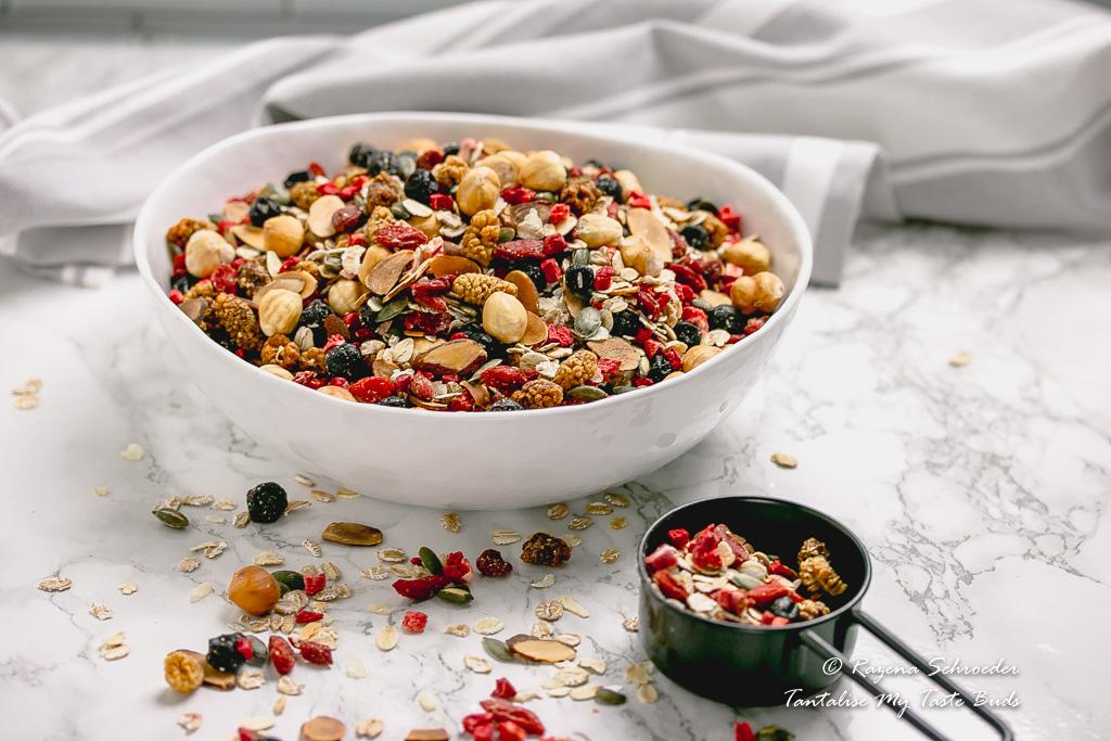 Toasted Luxury Berry and Nut Muesli