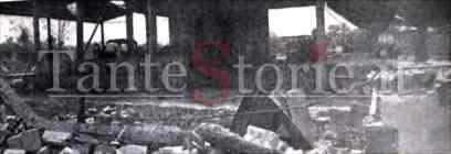 La Asbit Supergas dopo l'esplosione