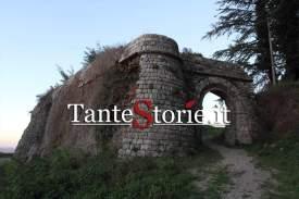 La porta della fortezza di Radicofani