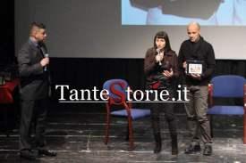 La premiazione di Isabella Dalla Vecchia e Sergio Succu di Luoghi Misteriosi