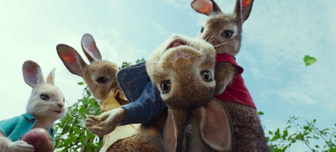 de film Pieter Konijn tijdens het Kids Weekend