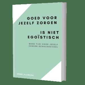 E-book Goed voor jezelf zorgen is niet egoïstisch