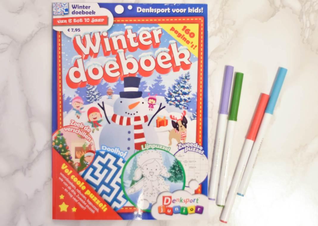 Denksport Winter Doeboek