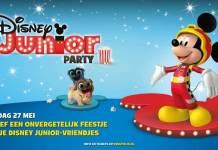 Disney Junior Party tijdens de Kinepolis kleuterbios