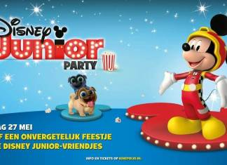 Disney Junior Party tijdens de Kinepolis kleuterbios