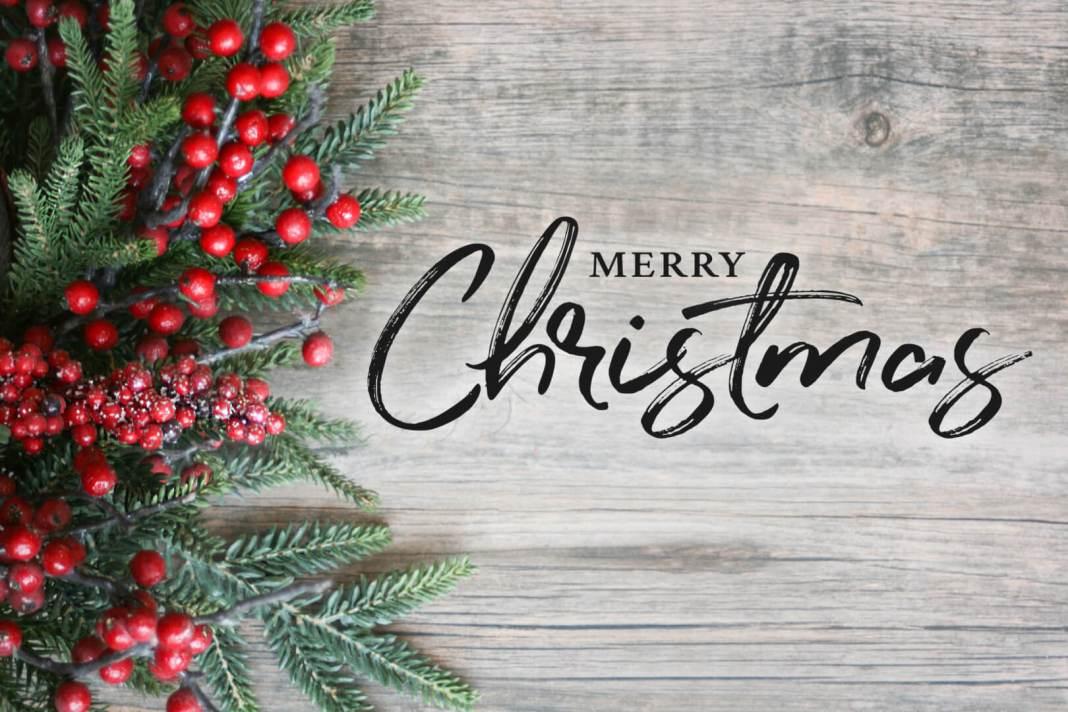 Met Kerst wens ik jou