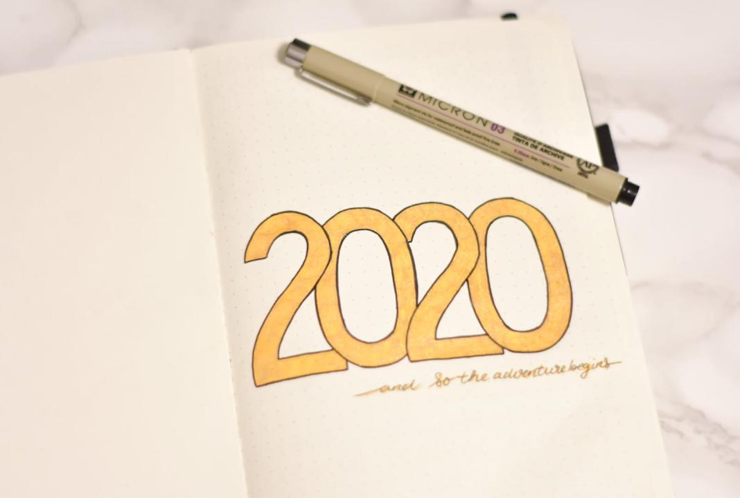 bullet journal in 2020