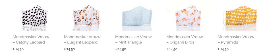 kopen van een mondkapje van Mond-masker