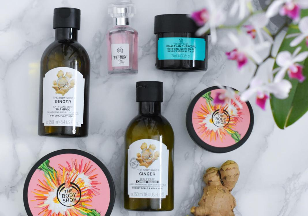 producten van The Body Shop
