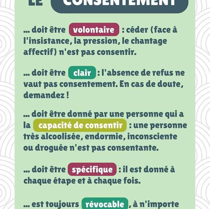Le consentement : un langage du désir