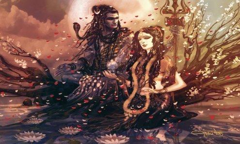 Toda la tradición escrita (shastra) del Shivaismo se divide en tres partes: