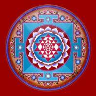 El círculo, otra forma geométrica simple que se usa a menudo en YANTRAS es el círculo