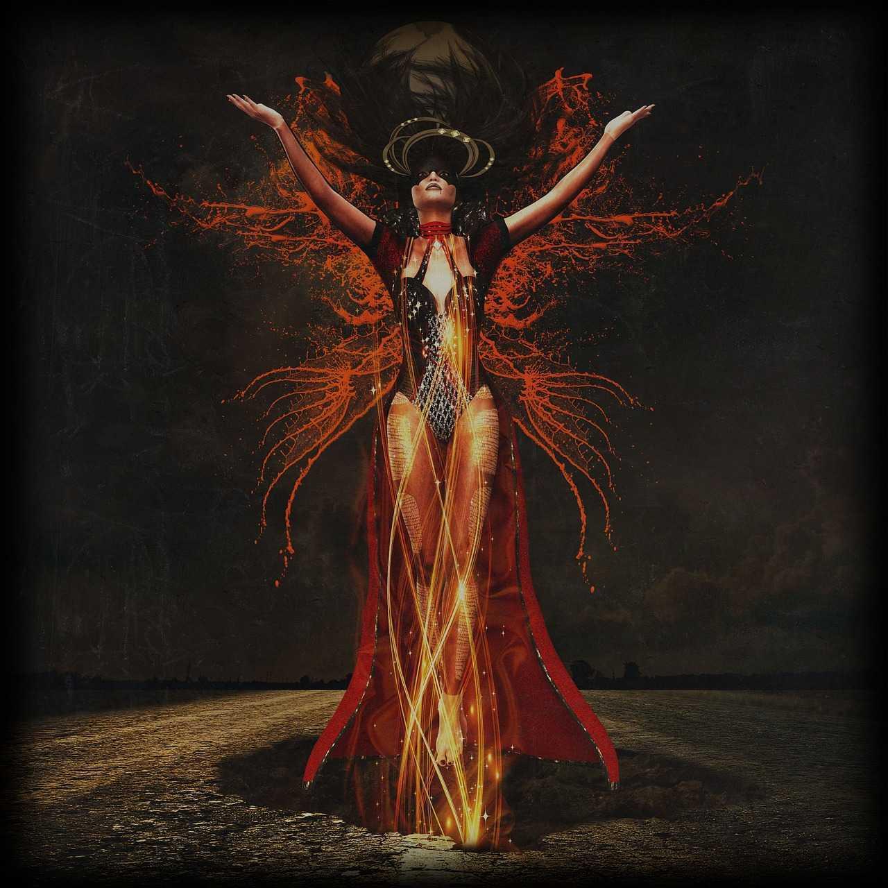 Female Demon Lilith: Sigil & Invocation of Primal Femininity