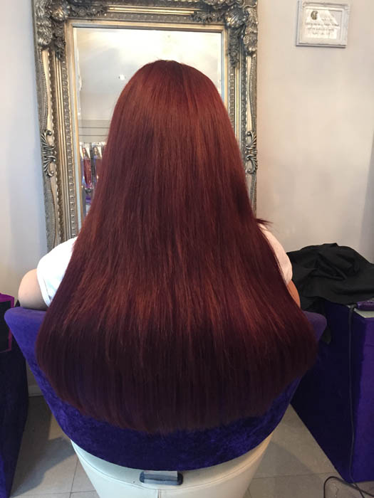 Red Transformations Tantrum Hair Extensions