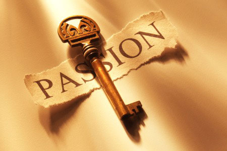Passion key to purpose