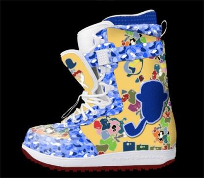 Pirart Society snowboard boots