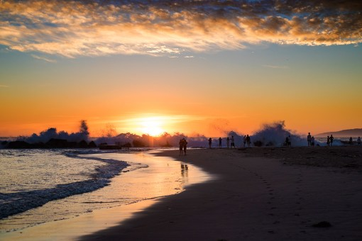 Venice-beach-California-at-Sunset