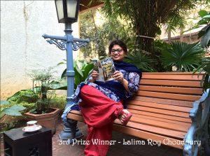 3rd prize winner Lalima Roy Choudhury