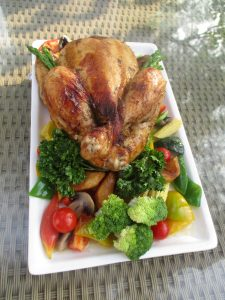 Roast Chicken With Pepper Jus_The Resort