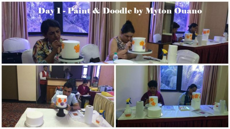 Paint& Doodle Workshop at CakeKraft India