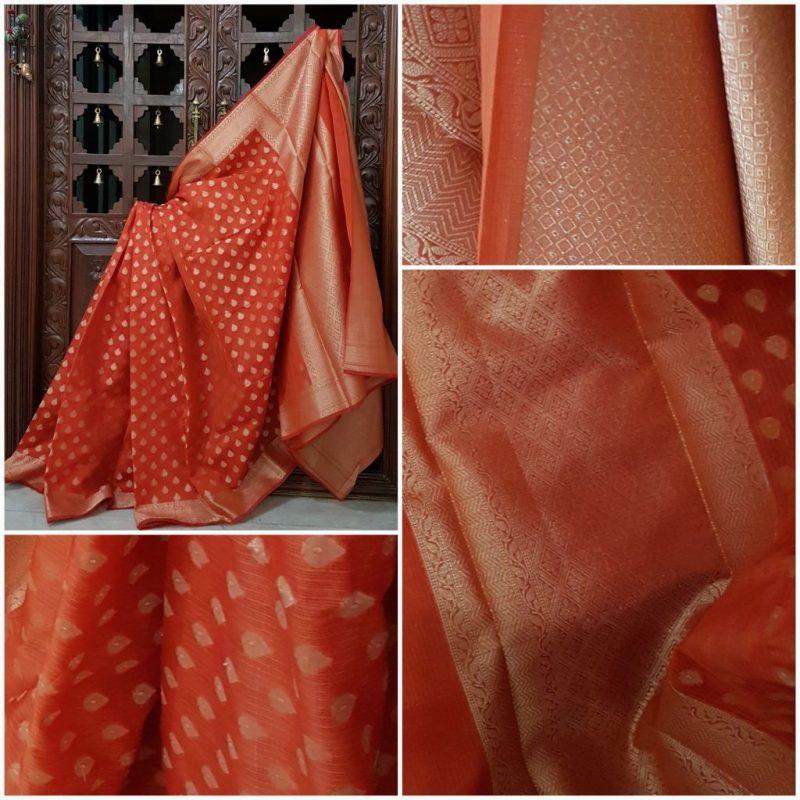 Capturing the ethnic heritage in a sari