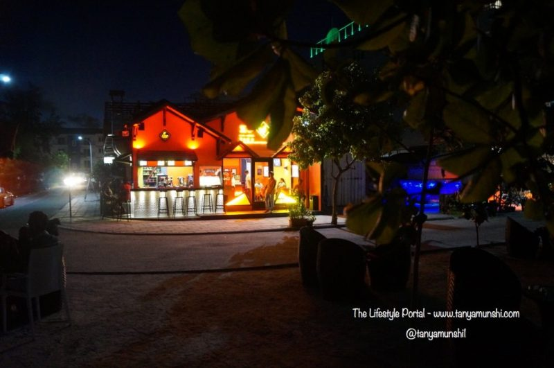 Beachside Cafe in Hulhumalé