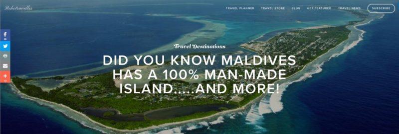 Bohotraveller's excluisve feature - Maldives