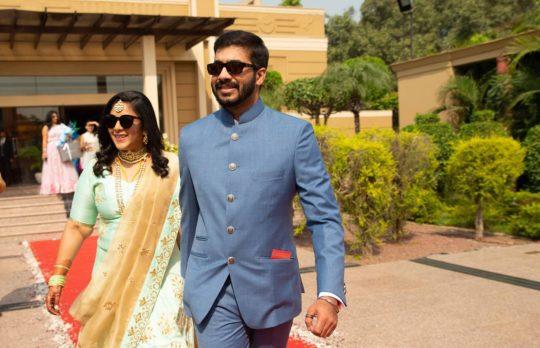 Shubha and Arvind. Photo courtesy: The Wedding Wishlist