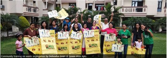 When citizens lend a hand for responsible garbage disposal. Photo courtesy: Waste Warriors