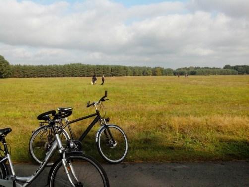 Radtour Auf Pilzsuche