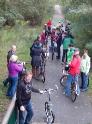 Radtour Radweg am Kanal in Oranienburg