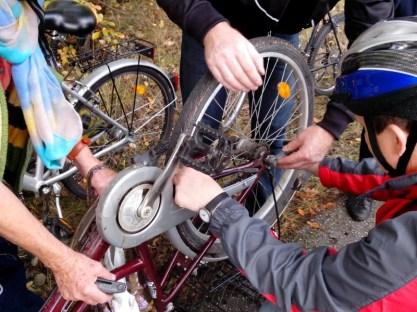 Radtour Reparatur