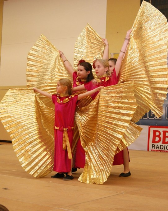 Tanzfestival Bernau 2015 - Oriental- Wüstenblumen Isis Wings 7