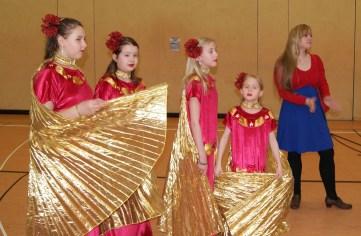 Tanzfestival Bernau 2015 - Oriental- Wüstenblumen vom Auftritt