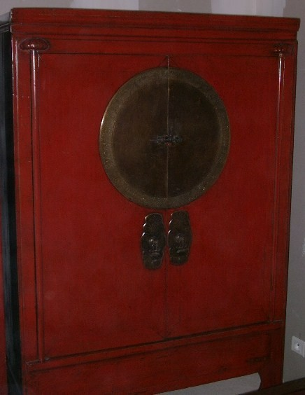 armoire chinoise ancienne de mariage