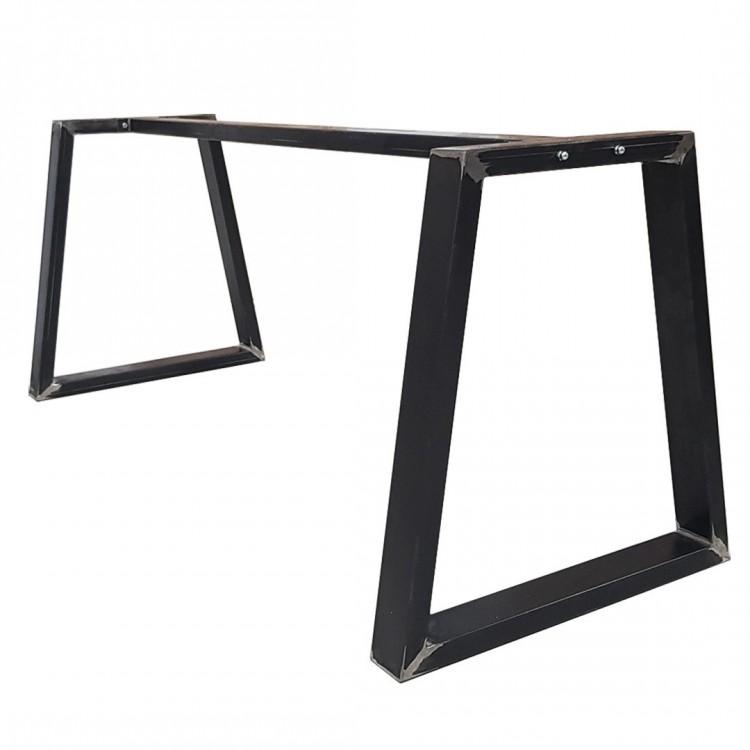 pieds de table banc bureau en fer industriel fabriques en mesure