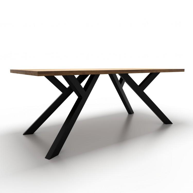 pieds de table industriel fabriques artisanalement taormina design