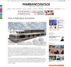 Herno, in Sicilia hub per la produzione Pambianco News