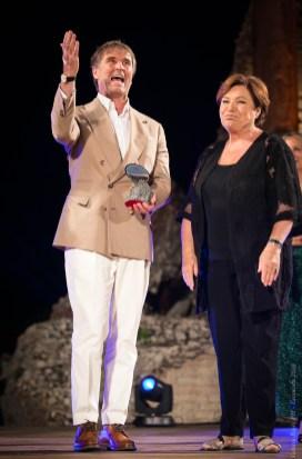 Brunello Cucinelli e Paola Cacianti