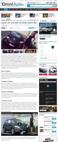 Lancia a Taomoda 2015 Foto e video - OmniAuto.it