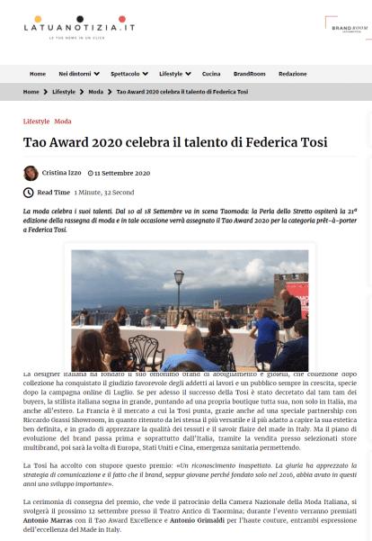 screencapture-latuanotizia-it-lifestyle-moda-tao-award-2020-celebra-il-talento-di-federica-tosi-1600623345575