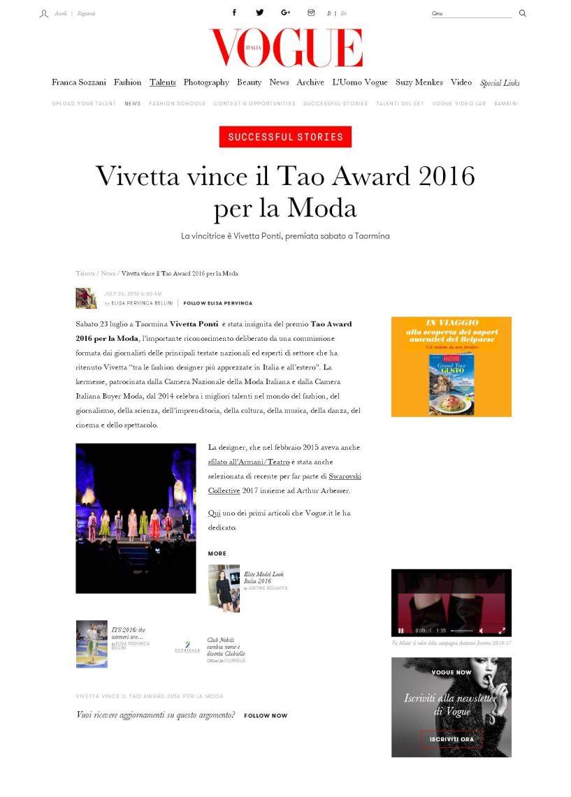 Vogue Vivetta