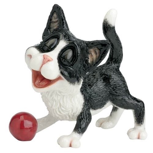 Jess cat Kitten collectablecomical animal critter at TAOS gifts