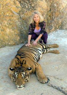 Sharon w_ tiger