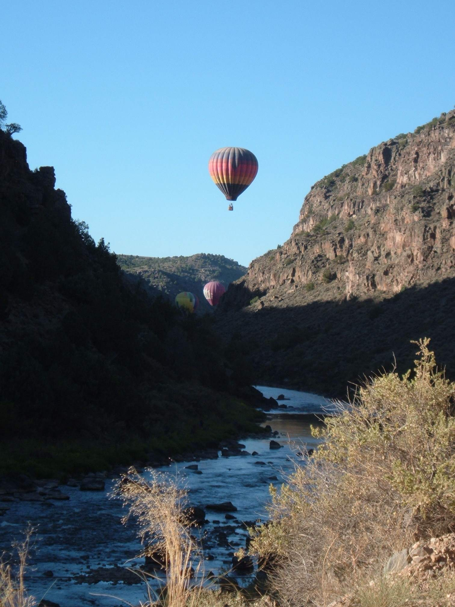 land in Dunn-Eagle above Rio Grand Gorge